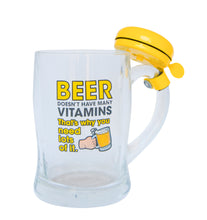 JGI BEER MUG WITH YELLOW BELL