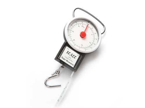 32Kg Luggage Scale and Tape Measure (1 Meter)