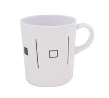 Plastic Black & White Matching Mug set of 6