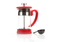 Excellent Houseware 1litre coffee plunger - Red