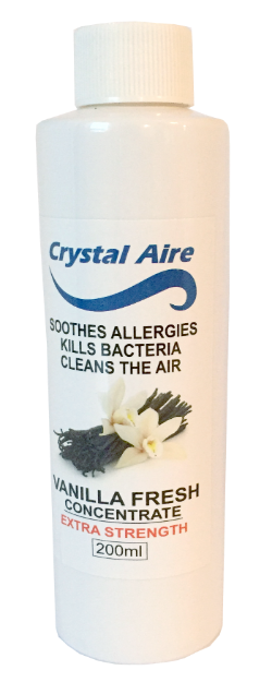 Crystal Aire Purifier 200ml Vanilla Concentrate - C001 Vanilla