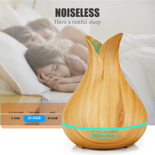 Sprout LED Aroma Diffuser light wood