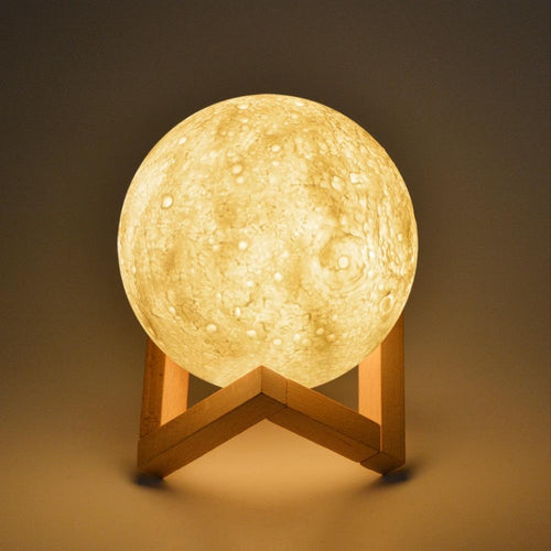 Crystal Aire 3D LED Moonlight Lamp