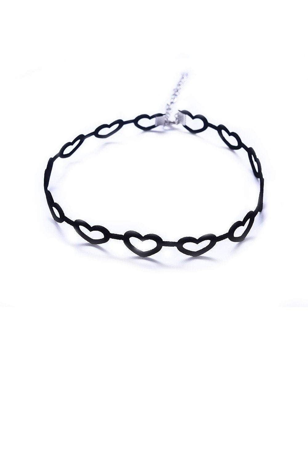Open Hearts Choker Necklace - Ciduire