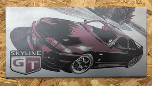 Nissan Skyline R33<br>Custom Design for Nico<br>Automotive Laser Art