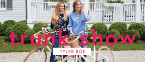 Tyler Boe Trunk Show at Ginger Howard Selections