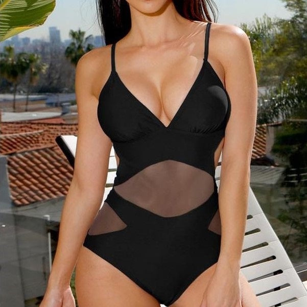 Carrie Mesh One Piece