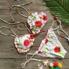 Royal Flower Bikini
