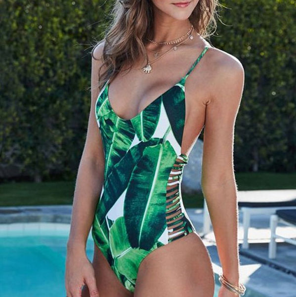 Green Jungle One Piece