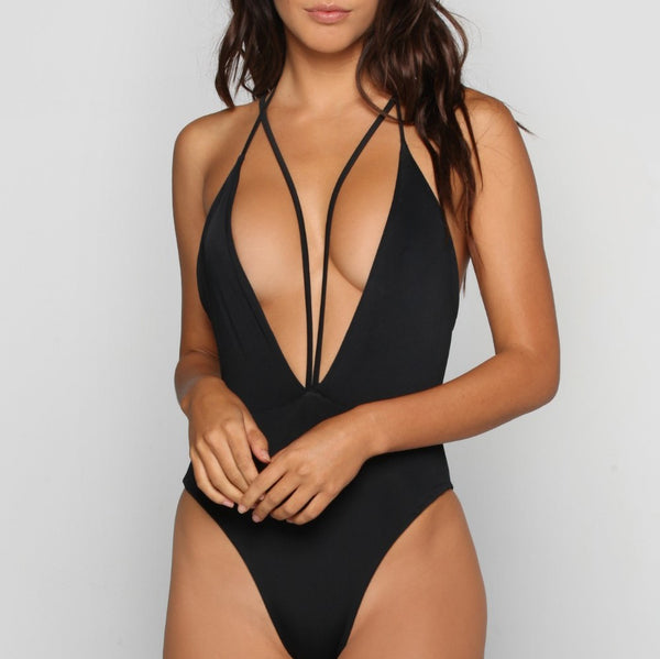 Maui Black One Piece