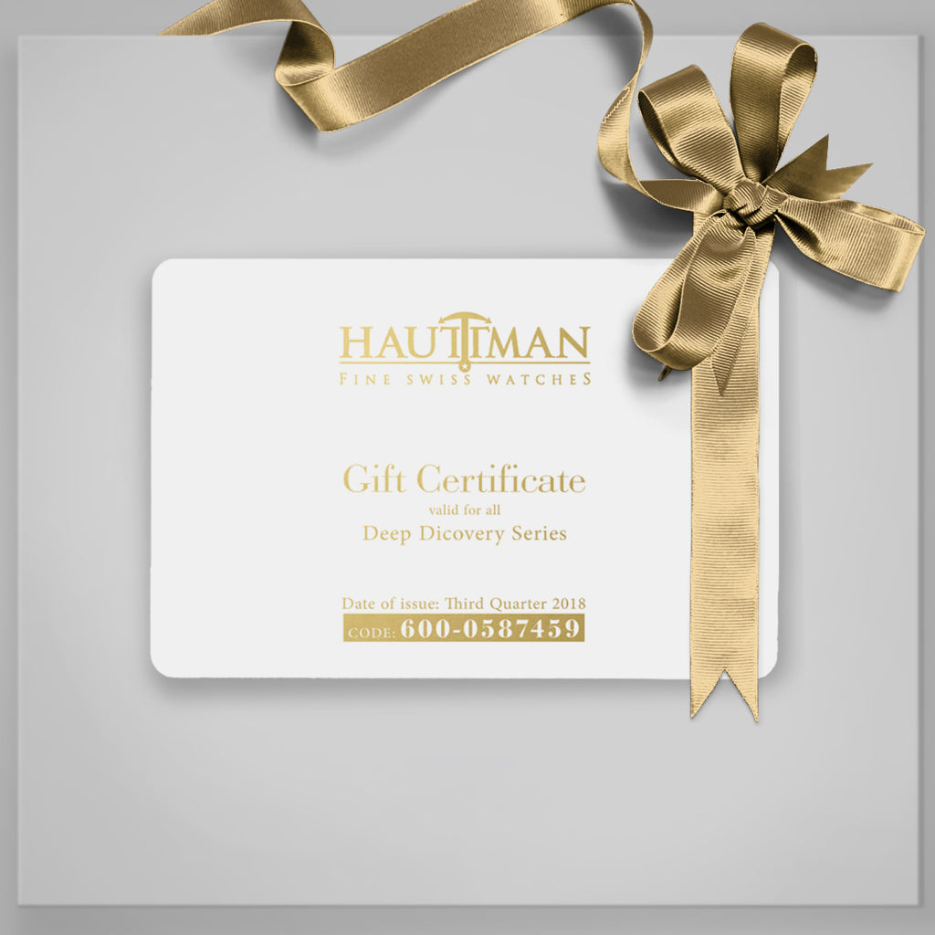 Hauttman Gift of Card -Premium