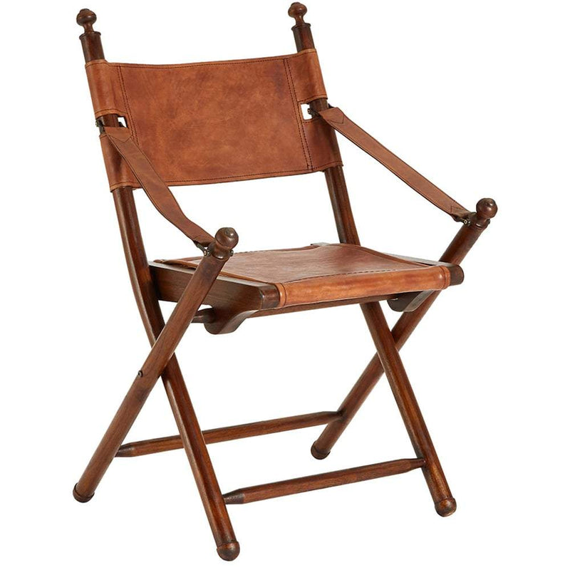 Buffalo Leather Folding Chair Leather Director Chair Candle And Blue Candle And Blue Interiors