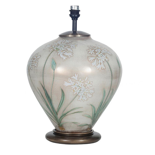 Jenny Worrall Agapanthus Table Lamp Lighting Candle and Blue Interiors