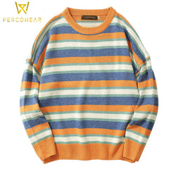 Wool Stripped Sweatshirt - PercoWear