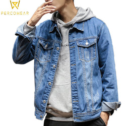 Slim Fit Denim Jacket - PercoWear