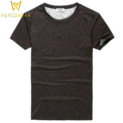 Printed Zen Cotton T-Shirt - PercoWear