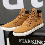 Leather Casual Sneakers - PercoWear