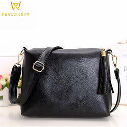 Soft Faux Leather Crossbody Bag - PercoWear