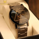 Stainless Steel Casual Vintage Quartz Watch - PercoWear