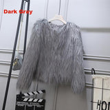 Fluffy Faux Fur Jacket - PercoWear