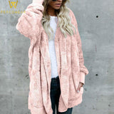 Faux Fur Teddy Bear Jacket - PercoWear