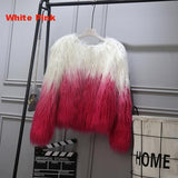 Faux Fur Two Colors / S Fluffy Faux Fur Jacket YHSBUY 2 Store