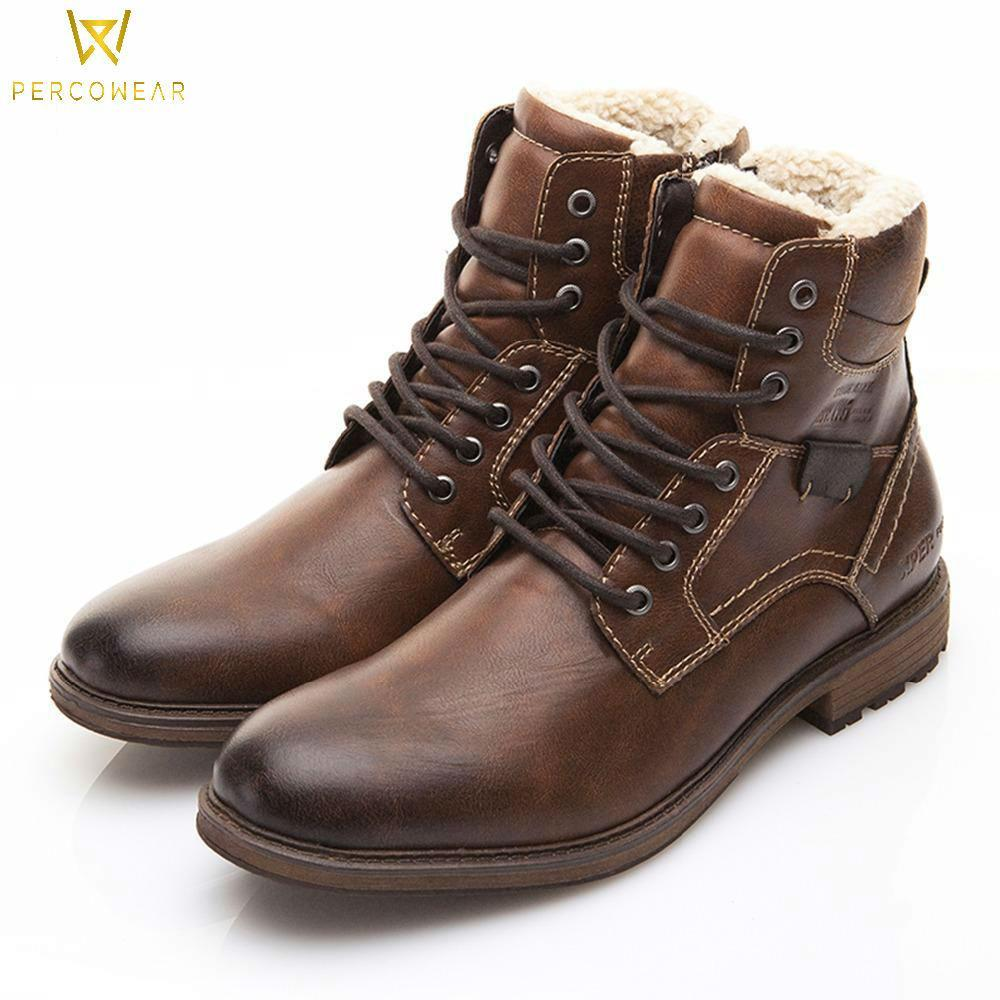 Vintage Leather Motorcycle Boots - PercoWear