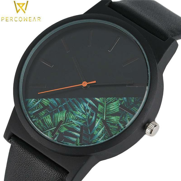 Tropical Jungle Quartz Watch - PercoWear