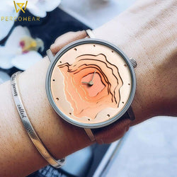 Geologic Design Quartz Watch - PercoWear