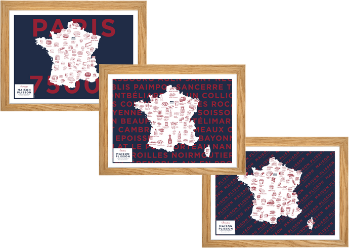 belles cartes de france