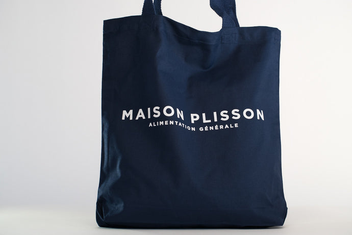 maison plisson sac tote bag coton