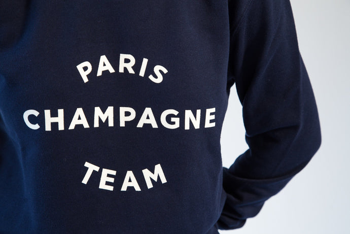 paris champagne team sweatshirt cool maison plisson