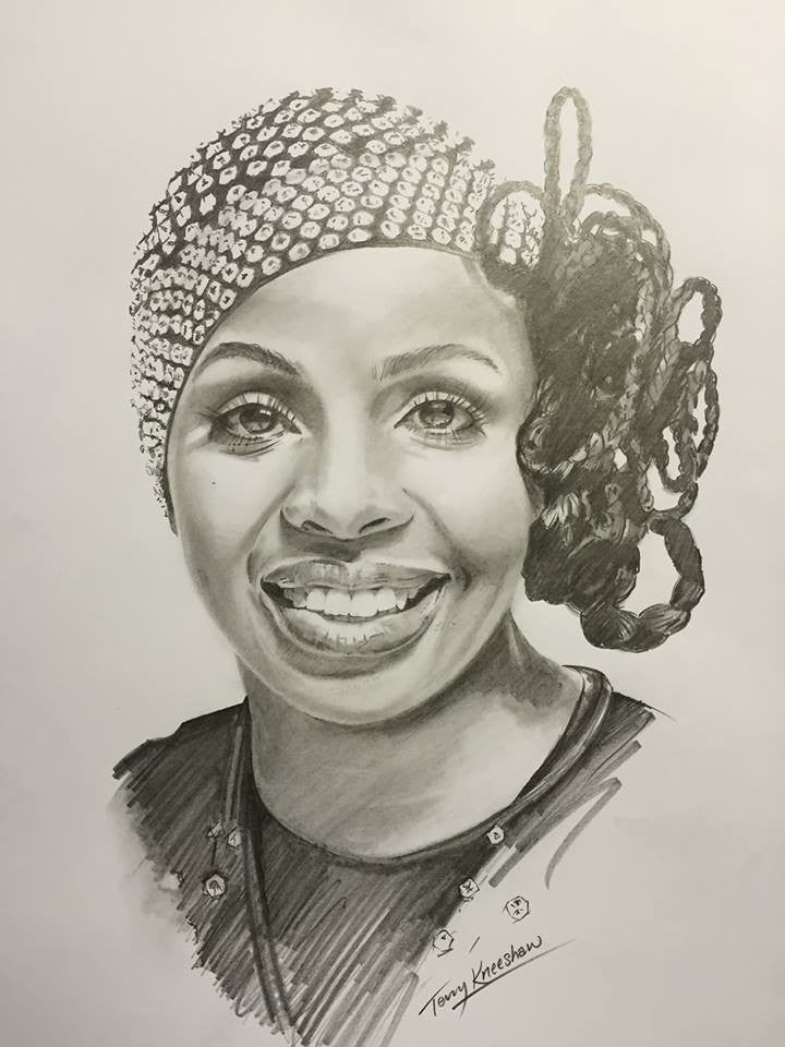 Gladys Knight Limited Edition Print