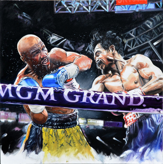 Pacquiao Versus Mayweather Limited Edition Print