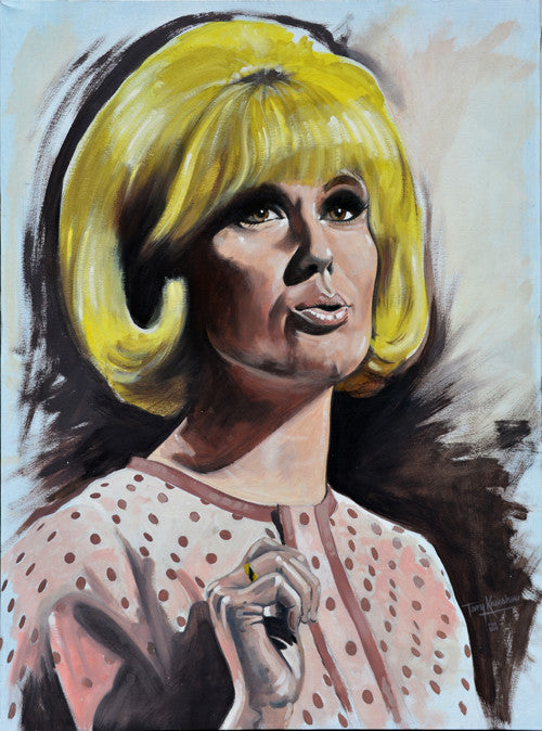 Dusty Springfield Limited Edition Print