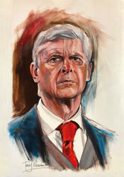 Arsene Wenger Limited Edition Print