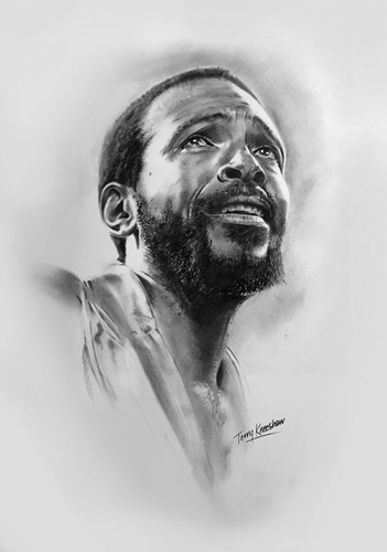 Marvin Gaye Portrait Limited Edition Print