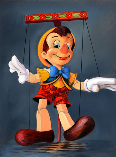 Pinocchio Limited Edition Print