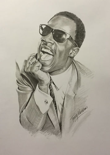 Stevie Wonder Limited Edition Print