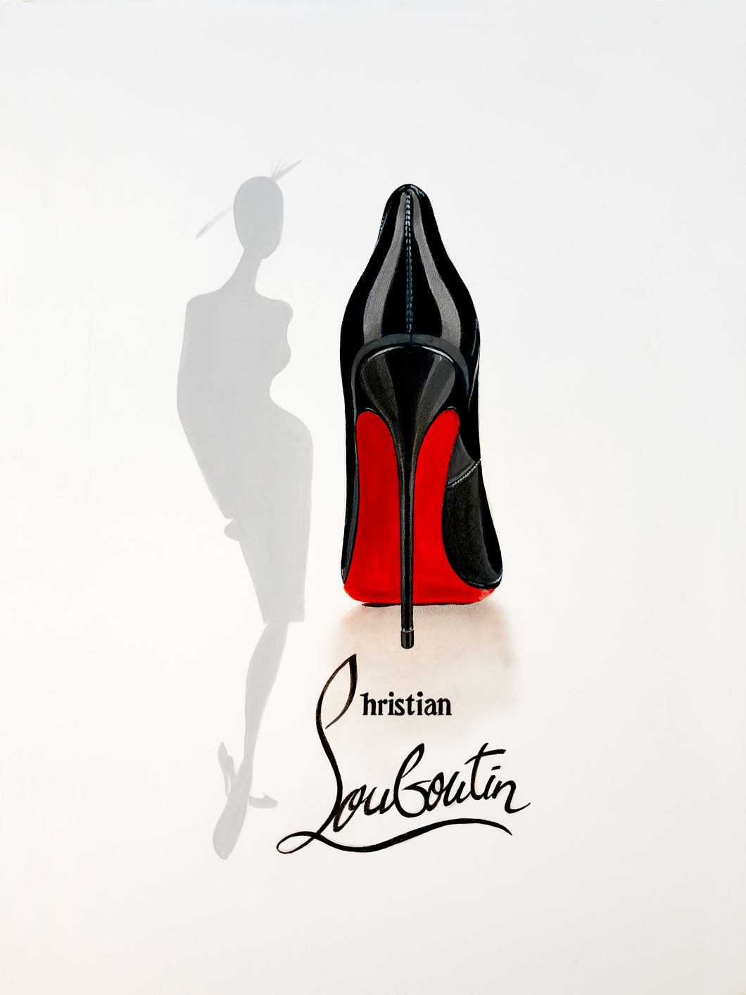 53d6d732abad Christian Louboutin Limited Edition Print – Terry Kneeshaw Art