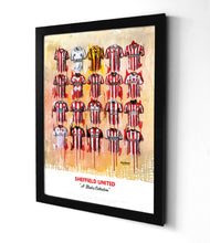 Sheffield United Shirts - A Blades Collection