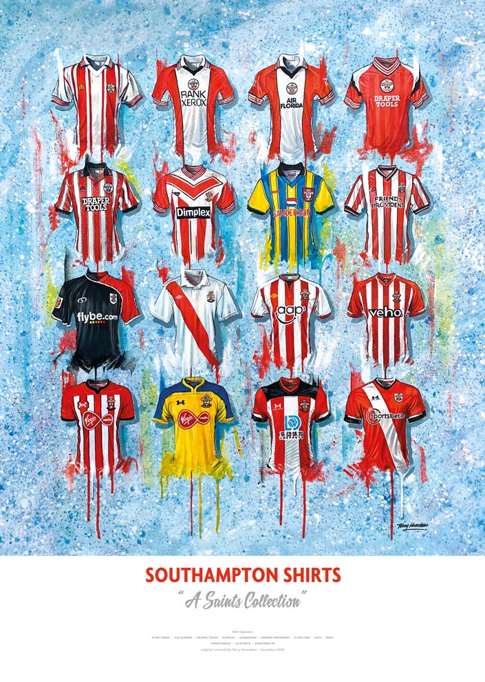 Southampton Shirts - A Saints Collection