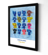 Everton Shirts - A Toffee's Collection