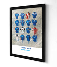 Rangers Shirts - A Teddy Bears Collection