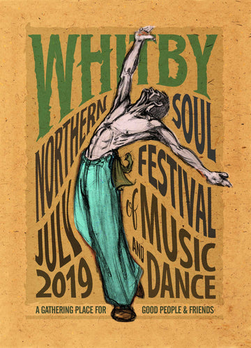 Whitby 2019 Northern Soul Print