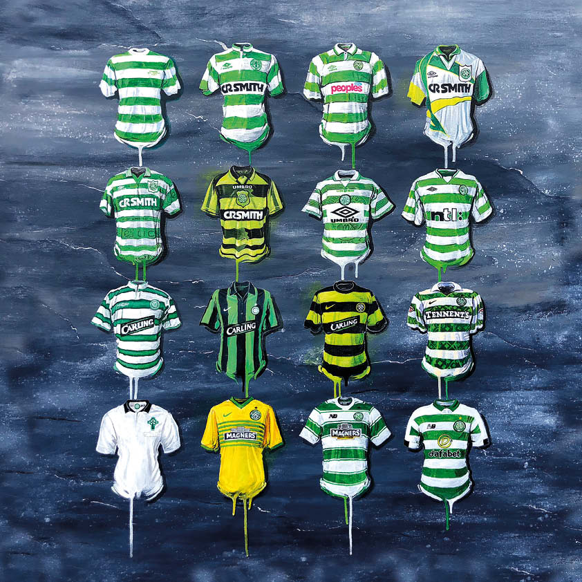 Celtic Shirts Original Canvas
