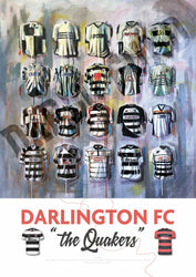 Darlington FC Football Shirts Print