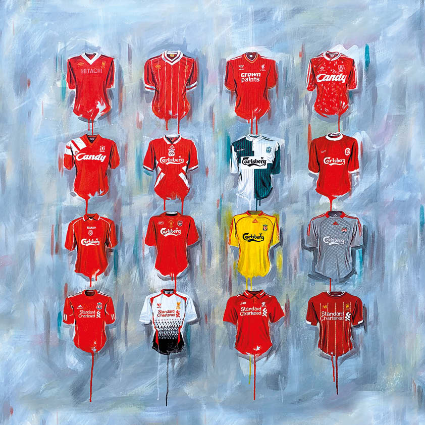 Liverpool Shirts Original Canvas