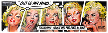 Marilyn Monroe Comic Strip - Original Painting