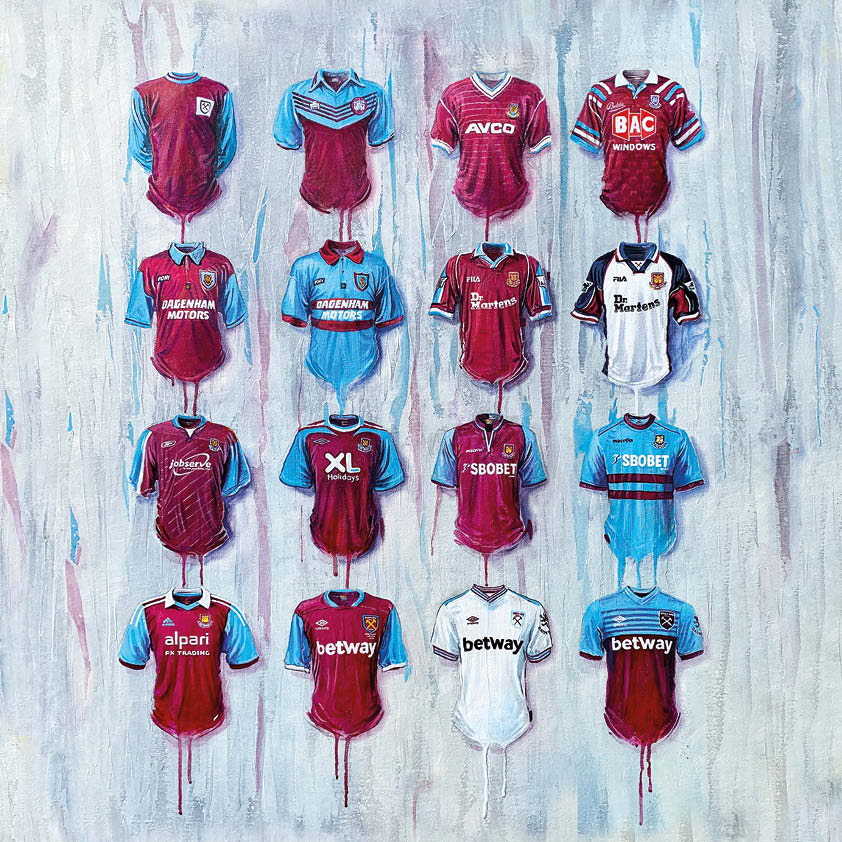West Ham Shirts Original Canvas